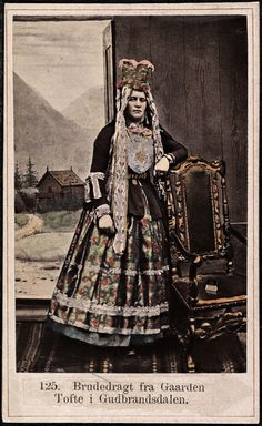 Marcus Selmer's Photographs of 19th-Century Norwegians | The Public Domain Review
