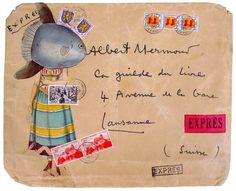 Vintage Envelope Art was Awesome | Messy Nessy Chic Messy Nessy Chic