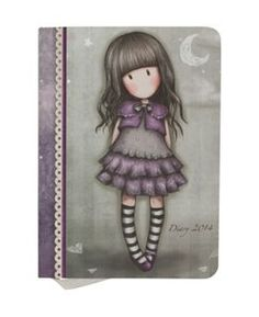 Gorjuss purple diary 2014...