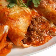 Enchiladas de carne ¡Están de rechupete!   #RecetasMexicanas #CocinaMexicana #ComidaMexicana #Enchiladas #EnchiladaDeCarne #RecetaDeEnchiladas