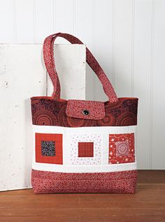 Prairie Tote Pattern Download by Loft Creations available now at connectingthreads.com for just $6.00 »
