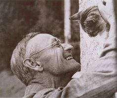Hermann Hesse - what a smile!