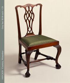Side Chair; 1760-1790.  Unknown maker; Boston.   (1959.2639)