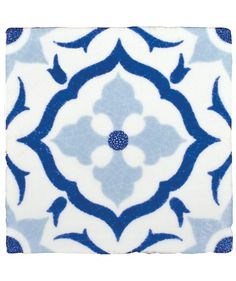 Tangier Blue Decorative Tile