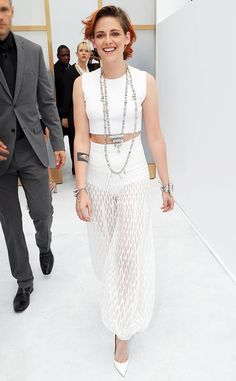 #KristenStewart at Paris #HauteCouture Fashion Week 2014: Celebrities Sightings #celebritystyle #celebrities