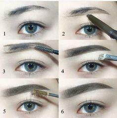Make Up; Look; Make Up Looks; Make Up Augen; Make Up Prom;Make Up Face; Makeup Steps Source by nncyplascencia Eye Makeup Steps, Eyebrow Makeup, Eyeshadow Makeup, Lip Makeup, Makeup Cosmetics, Eyeliner, Makeup Drawing, Drawing Eyebrows, How To Draw Eyebrows