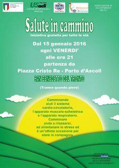 San Benedetto del Tronto il 15 gennaio riprende Salute in cammino