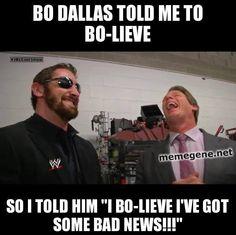Bad News for Bo Dallas. #WWE