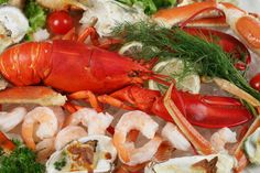 Local Jersey seafood is especially well represented on our menus.