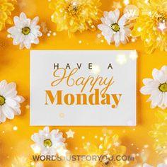 Monday Morning Gif, Happy Monday Gif, Cute Good Morning Gif, Good Morning Happy Monday, Birthday Gifs, Happy Birthday, Monday Greetings, Monday Blessings, Facebook Image