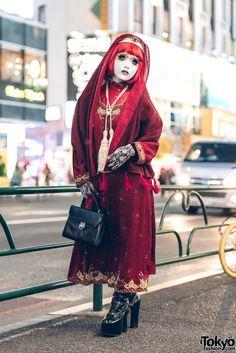 Japanese Street Fashion, Tokyo Fashion, Harajuku Fashion, Quirky Fashion, Vintage Fashion, Pretty Outfits, Cool Outfits, Tokyo Street Style, Cute Costumes