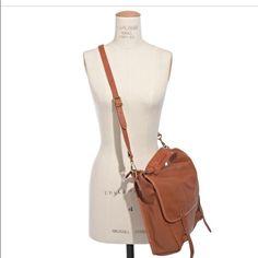 "Madewelll ""Dover"" messenger bag Nearly-new messenger bag. Monogrammed-d'oh! 11""H 12 1/4"" W 3 7/8"" deep. Madewell Bags"