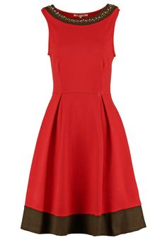 Pedir Anna Field Vestido de algodón - red/black por 44,95 € (15/11/15) en Zalando.es, con gastos de envío gratuitos.