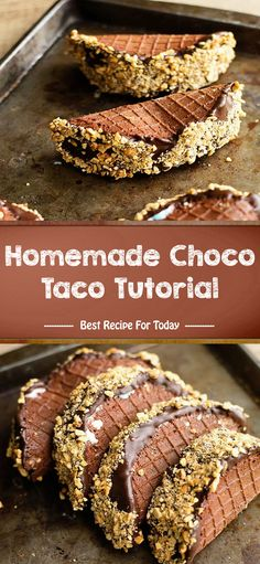 Homemade Choco Taco Tutorial – Home › Uncategories › Homemade Choco Taco Tutorial 1 C granulated sugar 4 lrg egg whites 1 ts. Frozen Desserts, Frozen Treats, Fun Desserts, Delicious Desserts, Yummy Food, Best Dessert Recipes, Sweet Recipes, Oreo, Choco Taco