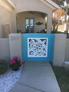 Our beautiful, all-weather PVC gate and porch railing panels add instant coastal decor to your home! Beautifully crafted for years of durable enjoyment, it will provide add beauty and value to your ho