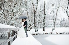 Wow this makes me want to have a winter wedding.