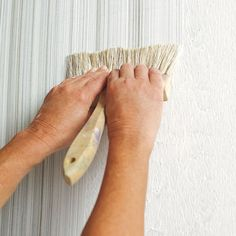 Photo: Wendell T. Webber | thisoldhouse.com | from How to Create a Faux Fabric Effect With Paint