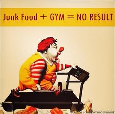 Well there's some motivation. I eat way too much junk food. Health Motivation, Weight Loss Motivation, Motivation Quotes, Exercise Motivation, Nutrition Quotes, Nutrition Activities, Health Quotes, Braut Make-up, Weight Loss Inspiration