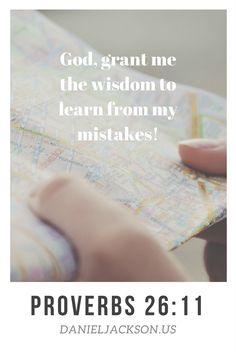 Wisdom   Proverbs   Learn From Experience   Faith Blog