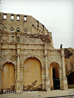 Roman Amphitheater in Macau Fisherman's Wharf #Macau #Travel #FilipinaWanderer