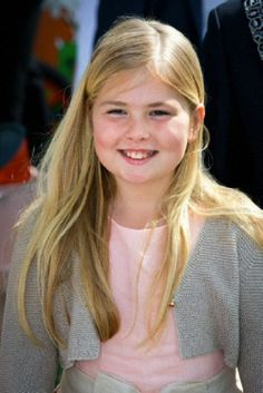 Dutch Crown Princess Amalia attends the 2014 King's Day celebrations in De Rijp