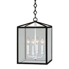 $338 small 15h x 10W. Robert Abbey Millbrook Pendant | Lantern | Pendants | Lighting | Candelabra, Inc.