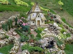 Fairy village in my garden
