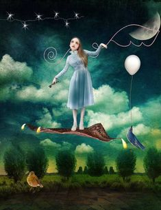 Over The Trees, a little tribute to Catrin Welz-Stein by xo Billa