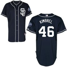 60fdbe724ee San Diego Padres Authentic Craig Kimbrel Alternate Jersey Matt Kemp