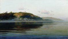 Левитан Исаак Ильич (1860-1900) Isaak Levitan Летний вечер. Река. 1890-1896