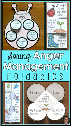These anger management foldables are a great way to teach your kids to identify anger, understand anger triggers, and use coping skills. They are perfect for individual and group counseling lessons. Students will be able to keep the foldables as a reminder of ways to calm down. They can also be placed into interactive notebooks. Great for students with ADHD!