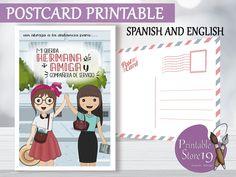the life we love Jw Postcard spanish and english