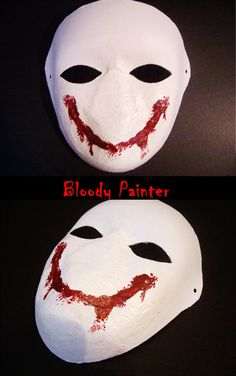 Bloody Painter's Mask!