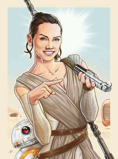 """""""I have a thing!""""- Rey"""