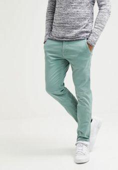 Pepe Jeans SLOANE - Chino - water green - ZALANDO.FR
