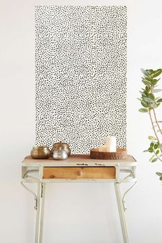 Chasing Paper Speckle Removable Wallpaper - Urban Outfitters