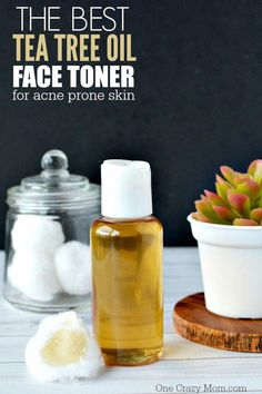 How to make Tea Tree Oil Face Toner for Acne Prone Skin. This Homemade Facial Toner is easy to make and is a great DIY Face toner for all ages. #CucumberFaceMask Homemade Facials, Homemade Skin Care, Diy Skin Care, Homemade Tea, Best Tea Tree Oil, Tea Tree Oil For Acne, Diy Beauty Face Mask, Diy Beauty Makeup, Beauty Tips