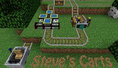 Steve's Carts 2 Mod para Minecraft 1.4.6