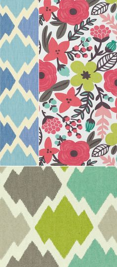 Sarawak and Mulu by Anna Bond of Rifle Paper Co for Villa Nova - and the full-size images are big enough for desktop wallpaper too! (via oh joy http://ohjoy.blogs.com/my_weblog/2012/02/new-fabric-by-rifle.html?utm_source=feedburner)