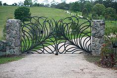 Brisbane Wrought Iron Gallery - Gates - Balustrades - Furniture - Sculptures - Resotrations - Lasercut Steel - Everingham Wrought Iron