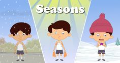 You will learn about Seasons on Earth in this video. On our planet earth, we see changes in weather conditions after every few months. We categorize these changes that occur every few months as seasons. There are 5 seasons, i.e. summer, winter, monsoon, autumn and spring. Summer season is the hottest time of the year, where the days are long and hot. Winter season is the coldest time of the year, when the days are short and nights are cold. We experience a lot of rainfall during the monsoon…