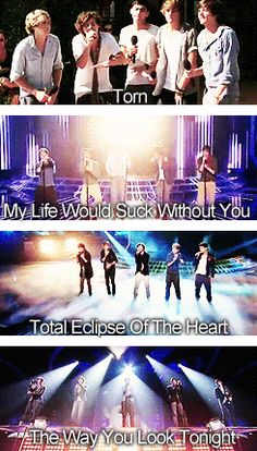 Here comes spam for all of the songs 1D have performed (pre-WMYB)