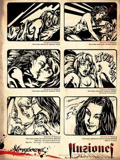 Storyboard Ilusiones secretas / Tinta & digital.