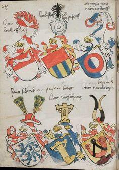 Wappenbuch des St. Galler Abtes Ulrich Rösch Heidelberg · 15. Jahrhundert Cod. Sang. 1084  Folio 247