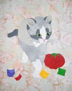 Cat Patches: Furry Cats and Cat Quilts