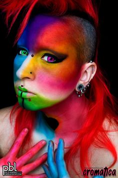 "This facepaint is inpired by the homonym song by the band ""Marta sui Tubi"" (ft. Lucio Dalla)  www.pureblacklove.com"