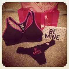 New sports bra I just bought. <3