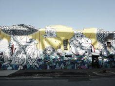 Graffiti in Williamsburg, Brooklyn, NYC