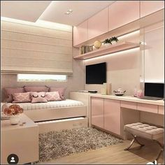 146 best teen bedroom ideas for girl and boys 47 mantulgan.me Wonderful Teen Bedrooms Bedroom boys Girl ideas mantulganme Teen Room Decor, Aesthetic Rooms, Girl Bedroom Decor, Dream Rooms, Bedroom Decor, Stylish Bedroom, Room Makeover, Room Ideas Bedroom, Bedroom Interior