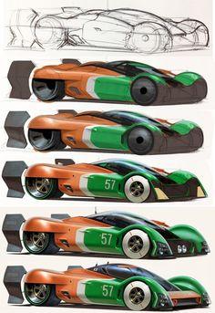 Concept Design Sketch Render Tutorial by John Frye Car Design Sketch, Car Sketch, Paper Car, Industrial Design Sketch, Futuristic Cars, Car Drawings, Car Painting, Automotive Design, Auto Design